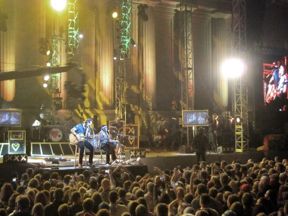 Michael Franti Greek Theater Oct 2011