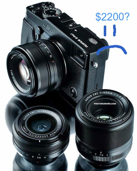 Fuji X-Pro1 image from photorumors.com