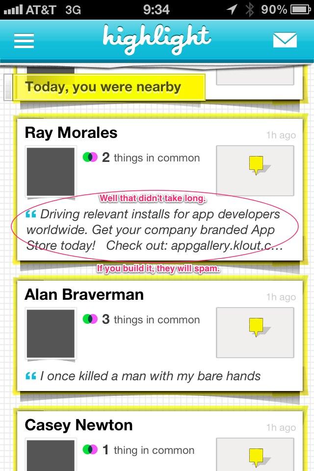 Highlight-app-spam-1