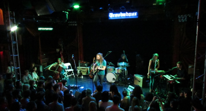 Bowerbirds at The Troubadour, April 2012-3
